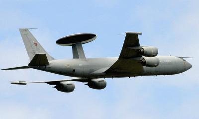 RAF E-3D Sentry.