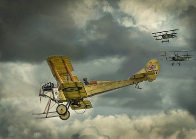 Photo Competition - Royal Aircraft Factory BE2b at Old Sarum Airshow with Panasonic GX7. - Ian Porter