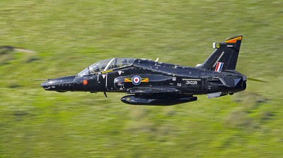 Photo Competition - RAF Valley Hawk T2 low level in Mid Wales. Taken on a Nikon D7000 with Sigma 150-500mm lens - Keith Griffiths