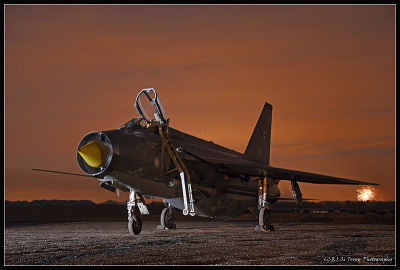 Photo Competition - Twilight Lightning at Bruntingthorpe. Nikon D7200, Lens 18-105mm - Si Tovey
