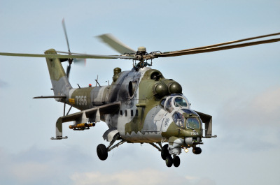 Photo Competition - 7356, Mil Mi-24V Hind, Czech Air Force, photographed at RIAT, RAF Fairford 2015, with Nikon D7000 and Sigma 150-500 OS, HSM Lens attached - Andrew Ratcliffe