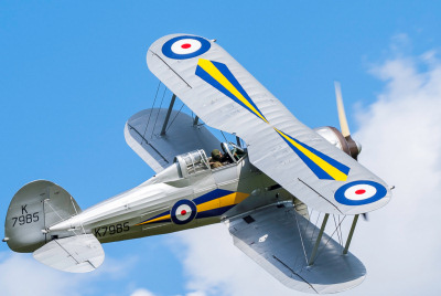 Photo Competition - Gloster Gladiator taken at Old Warden (Shuttleworth) 2013, using Sony a200 with Sigma 50-500 - Steve Catlett