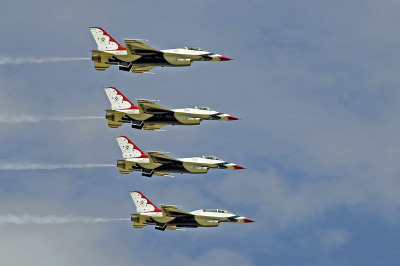 Photo Competition - USAF Thunderbirds during their last visit to RIAT in 2007. Taken on a Nikon D50 with Sigma 28-200mm lens.
