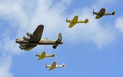 Photo Competition - BBMF formation at this years RIAT at Fairford. Taken on a Nikon D7000 with Sigma 18-200mm lens - Keith Griffiths
