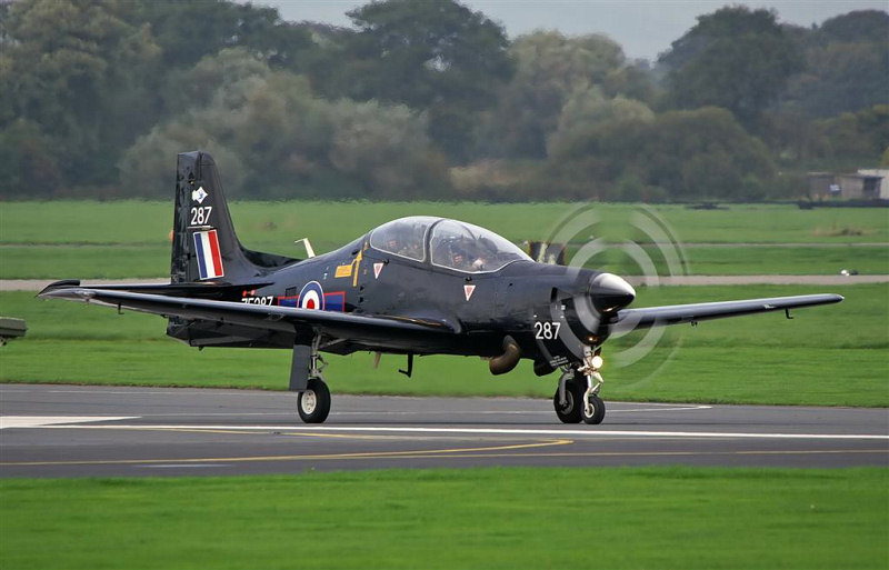 Tucano T1 (72 Squadron) at RAF Linton-on-Ouse - Andy Court.