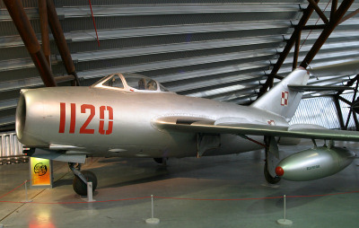 MiG-15 at the RAF Cosford Museum - UK Aviation Museums.