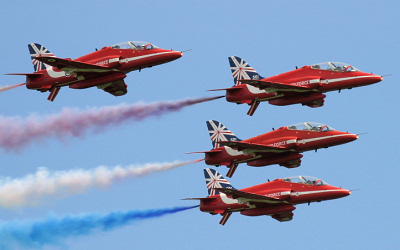 Display Teams seen at UK Air Shows