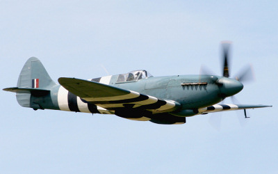 BBMF Spitfire - Clacton Airshow.