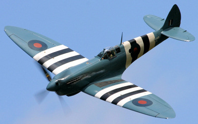 Airworthy Spitfires around the world