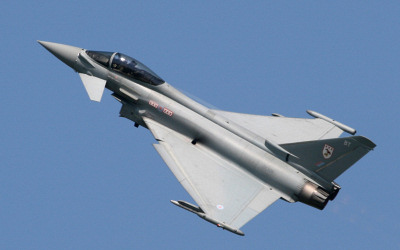 Teignmouth Airshow - RAF Typhoon.