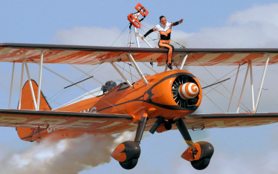 Breitling Wingwalkers - Bournemouth Air Festival.