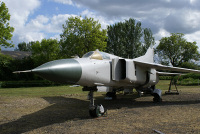 The top-coat of paint has recently been applied to Mikoyan-Gurevich MiG-23M