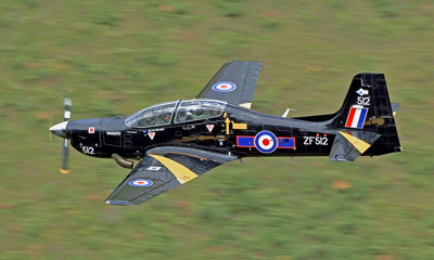 Photo Competition - RAF Tucano low level in Mid Wales. Taken on a Nikon D7100 with Nikon 300mm F4 lens - Keith Griffiths