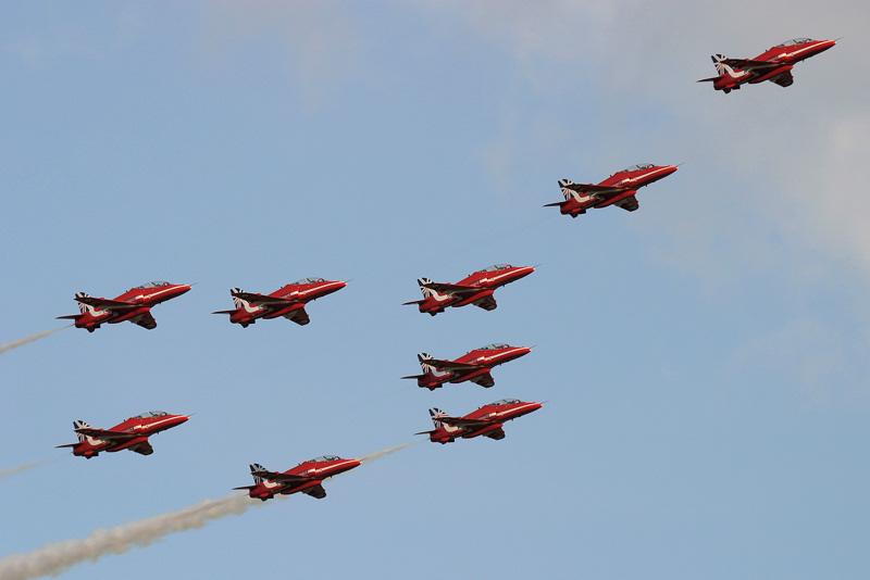 Red Arrows.