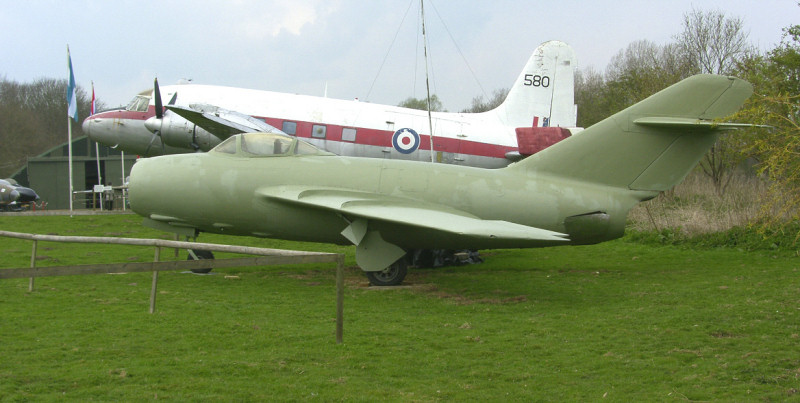 Norfolk and Suffolk Aviation Museum.