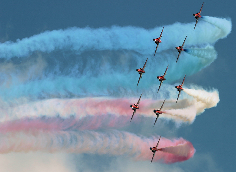 Red Arrows Schedule 2021.