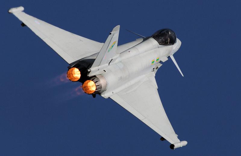 RAF Typhoon - Tteignmouth Airshow 2019.