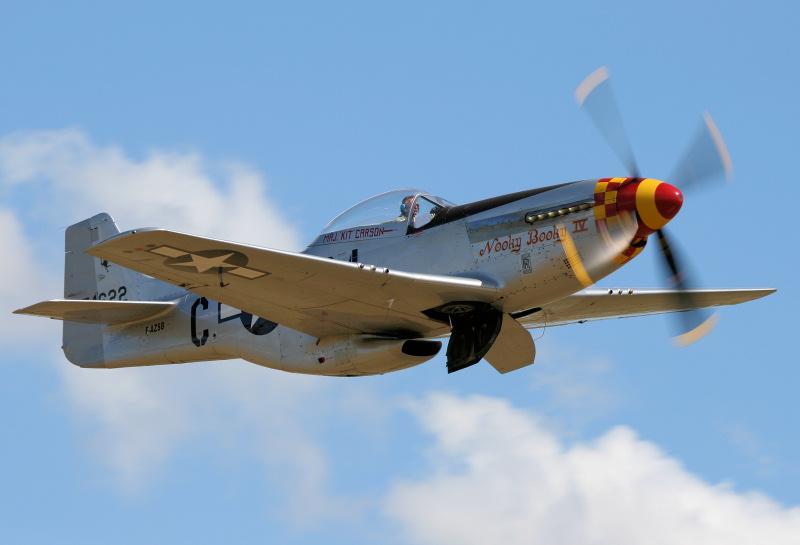 P-51D Mustang - Duxford Airshow.
