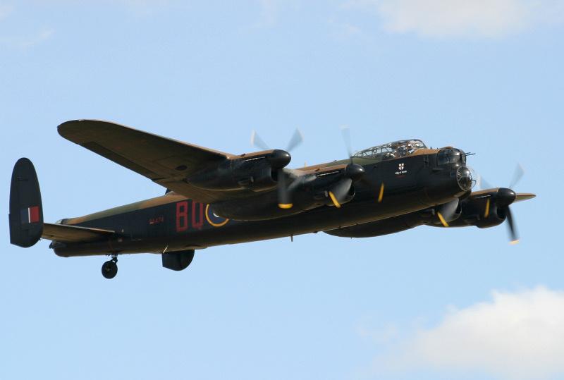 BBMF Lancaster - Dambusters Anniversary Flight 2018.