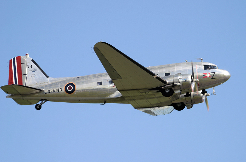 DAKS over Normandy.
