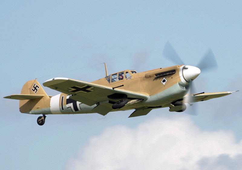 Buchon - Duxford Airshow.