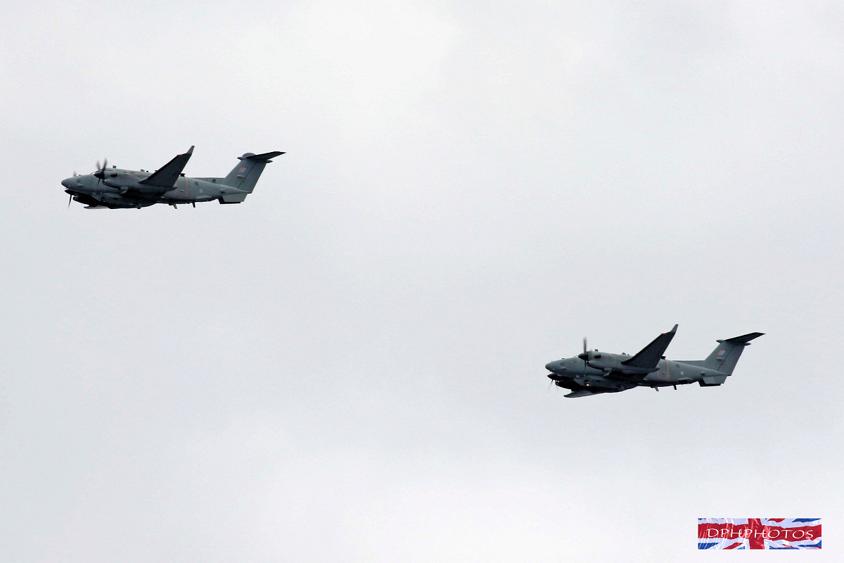 RAF100 Flypast 2018 including Rehearsals, Practice, Aircraft List