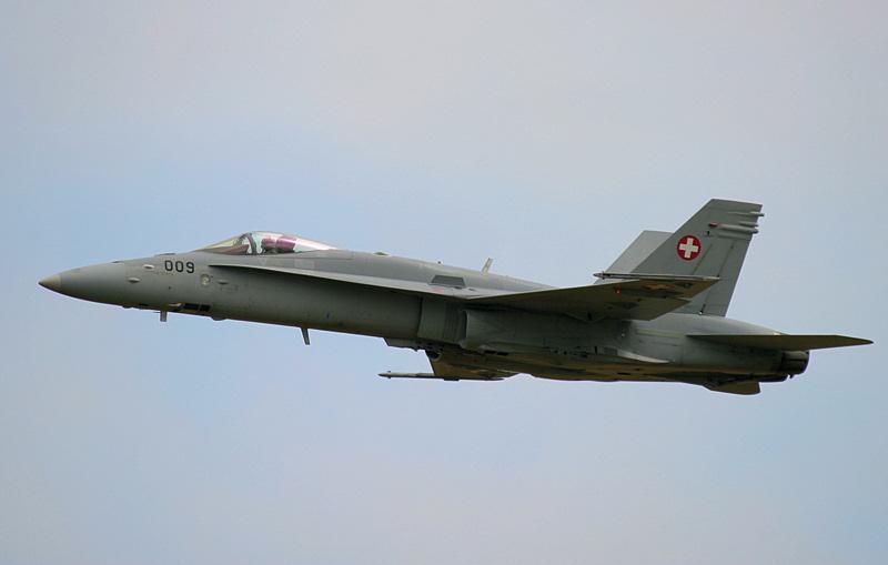 Swiss F/A-18C Hornet - RAF Cosford Airshow 2019