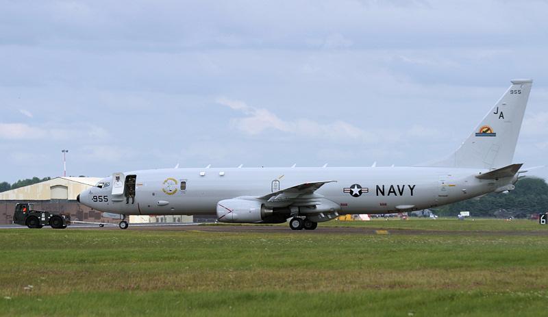 USN P-8A Poseidon.