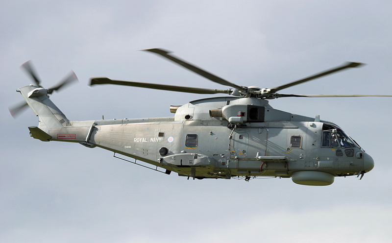 Merlin HM2 helicopter
