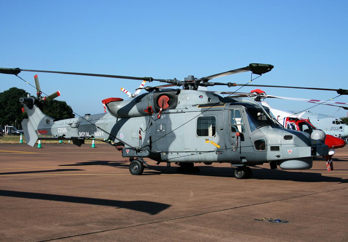 Wildcat HMA2 helicopter