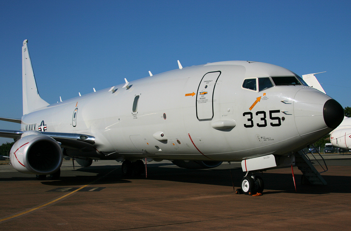 US Navy P-8A Poseidon
