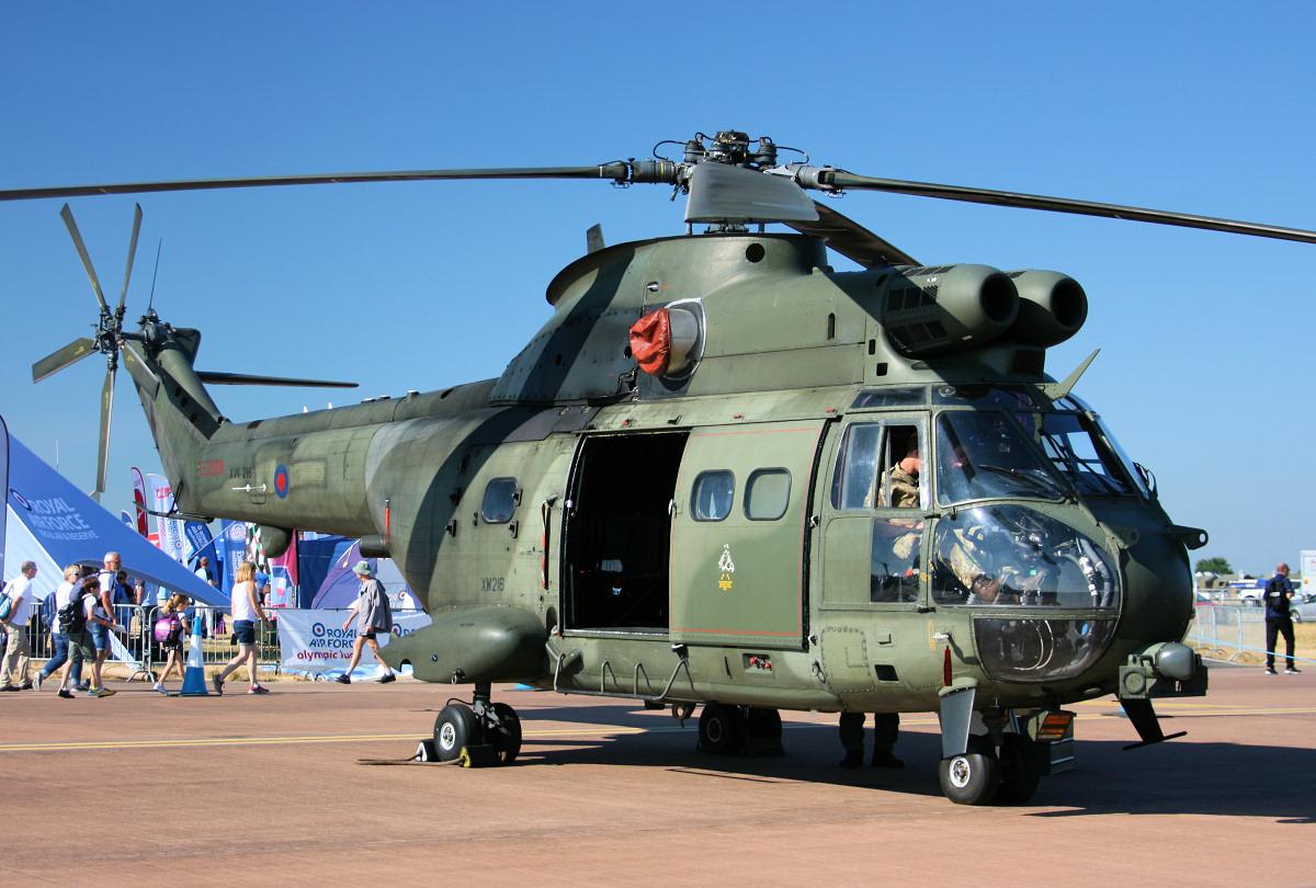 RAF Puma 50th anniversary flypast