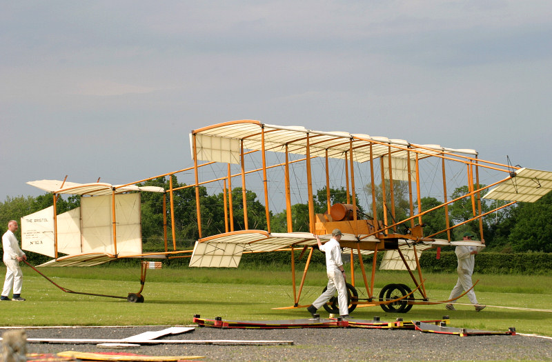 Bristol Boxkite at Shuttleworth.