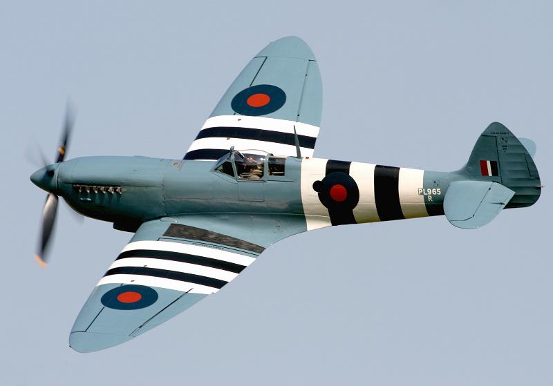 Spitfire PR.XI PL965 at Shuttleworth 2007.