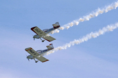 Fireflies Aerobatics Display Team by David Hackney