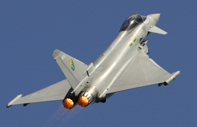 RAF Typhoon at Kemble.