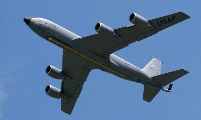 KC-135R Stratotanker at RAF Mildenhall - Andy Court