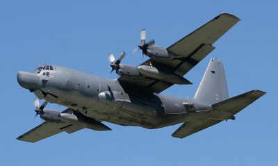 MC-130 at RAF Mildenhall - Andy Court