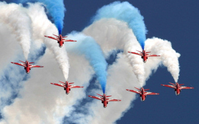 Waddington Air Show.