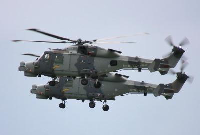 Wildcat helicopters.